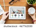 business  internet shopping ... | Shutterstock . vector #467762030
