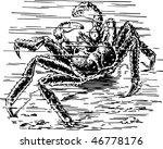 crab | Shutterstock .eps vector #46778176