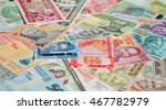 variety of the african banknotes | Shutterstock . vector #467782979