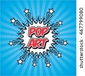 pop art vintage design  vector... | Shutterstock .eps vector #467799080