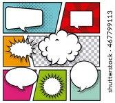 pop art vintage design  vector... | Shutterstock .eps vector #467799113