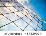 sunny summer ball games... | Shutterstock . vector #467829014