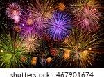 Colorful Firework Celebration...