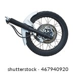 The Front Wheel Of A Motorcycl...