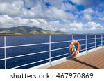 Ring Life Buoy On A Deck Of...