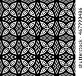 engraving seamless pattern. the ... | Shutterstock .eps vector #467993486