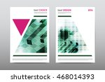 brochure layout template flyer... | Shutterstock .eps vector #468014393