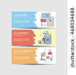 three web banners tariffs for...