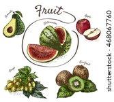 vector illustration colorful... | Shutterstock .eps vector #468067760