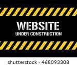 website under construction | Shutterstock .eps vector #468093308