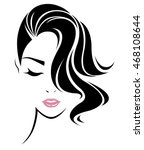 illustration of women short... | Shutterstock .eps vector #468108644