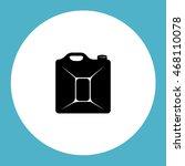 petrol jerrycan | Shutterstock .eps vector #468110078