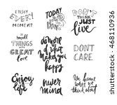 do small things with great love.... | Shutterstock .eps vector #468110936