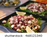 Octopus Fresh Salad With Rucol...