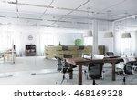 Elegant Office Interior . Mixe...