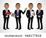 elegant people businessman | Shutterstock .eps vector #468177818