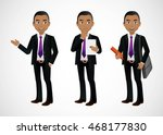 elegant people businessman | Shutterstock .eps vector #468177830