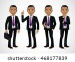 elegant people businessman | Shutterstock .eps vector #468177839