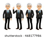 elegant people businessman | Shutterstock .eps vector #468177986