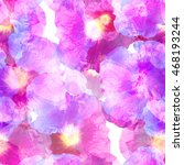 floral seamless pattern flowers ... | Shutterstock . vector #468193244