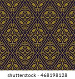 antique seamless background 547 ... | Shutterstock .eps vector #468198128