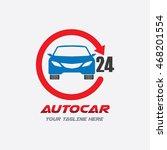 car service logo | Shutterstock .eps vector #468201554