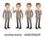 elegant people businessman | Shutterstock .eps vector #468220649