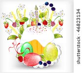 easter background | Shutterstock .eps vector #46823134