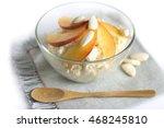 healthy breakfast.cottage... | Shutterstock . vector #468245810