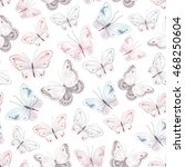 seamless soft pattern with... | Shutterstock .eps vector #468250604