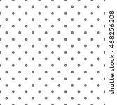 seamless pattern pois  dot ... | Shutterstock .eps vector #468256208