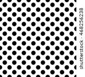 seamless pattern pois  dot ... | Shutterstock .eps vector #468256238