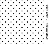 Seamless Pattern Pois  Dot ...