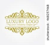 luxury logo | Shutterstock .eps vector #468257468