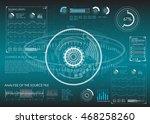 futuristic user interface hud...