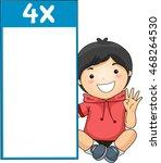 illustration of a little boy...   Shutterstock .eps vector #468264530