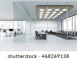 Meeting Room With Glass Walls...