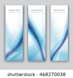vector design vertical banner... | Shutterstock .eps vector #468270038
