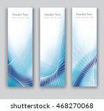 vector design vertical banner... | Shutterstock .eps vector #468270068