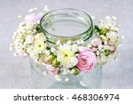 Wedding Wreath With Rose ...