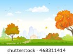 vector cartoon illustration of... | Shutterstock .eps vector #468311414