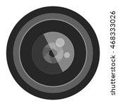 camera photo optic lense on... | Shutterstock .eps vector #468333026