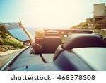 view from rear trunk area of... | Shutterstock . vector #468378308