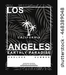 los angeles  california... | Shutterstock .eps vector #468389048