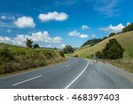 road and blue sky | Shutterstock . vector #468397403