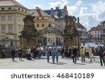 prague  czech republic   june... | Shutterstock . vector #468410189