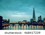 london urban architecture over... | Shutterstock . vector #468417239