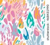 vector abstract background in... | Shutterstock .eps vector #468431990
