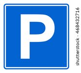 parking sign   Shutterstock .eps vector #468432716