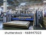 furniture factory machine | Shutterstock . vector #468447023